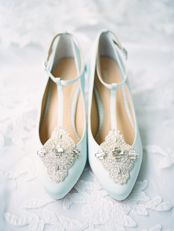 Bella Belle blue wedding shoes