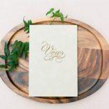 Mint Green Vow Book