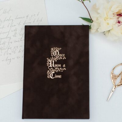 A Fairytale Wedding Vow Book