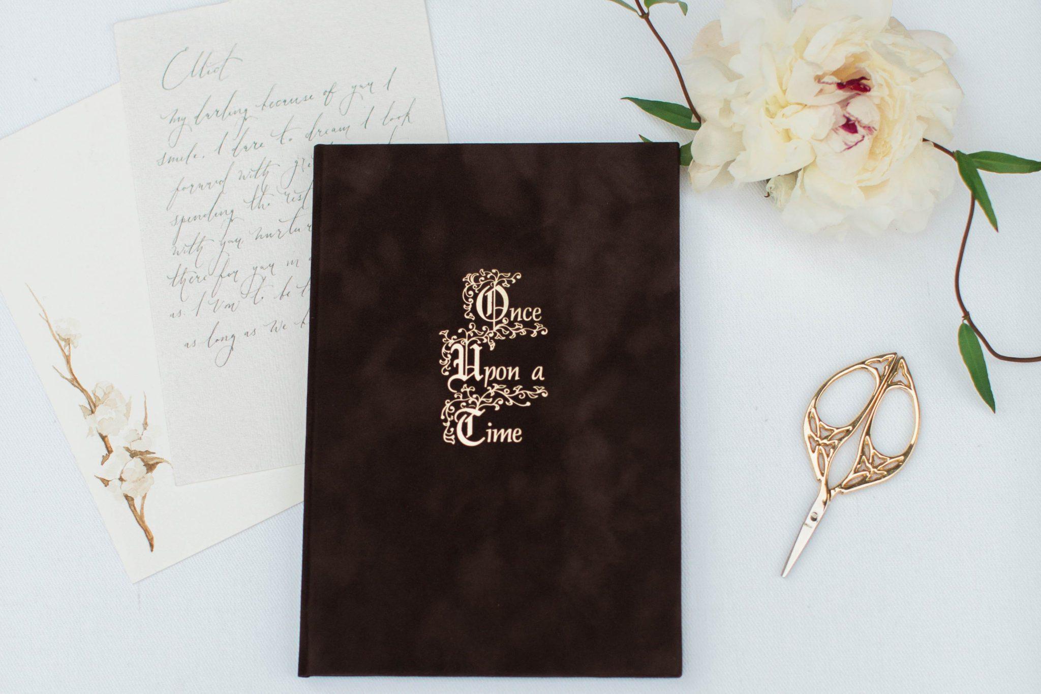 A Fairytale Wedding Vow Book
