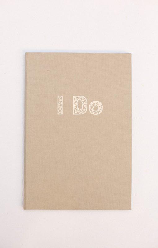 Geometrical design wedding theme, I Do vow book, luxury weddings