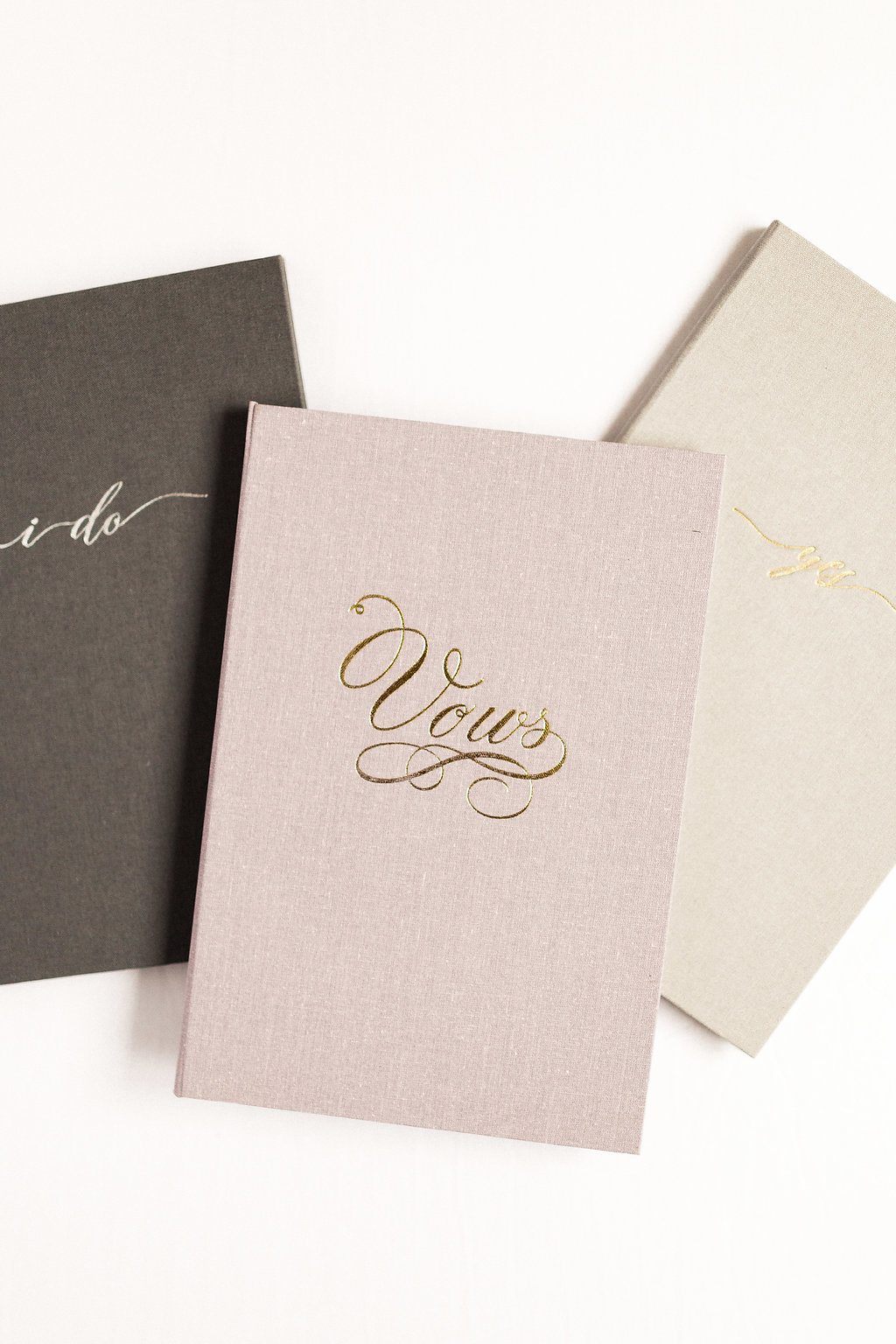 trio vow books wedding story writer