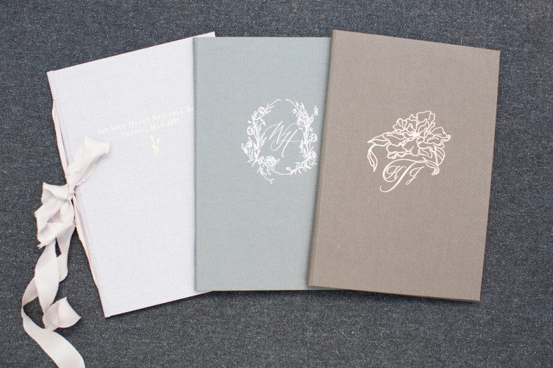 Custom Vow Book, Welcome Wedding Book, Destination Weddings
