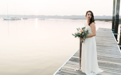 Romantic Beaufort Coast SC Wedding