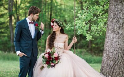 Blush, Red and Pink Wedding Ideas