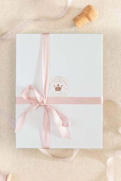 Large branded Wedding Story Writer box