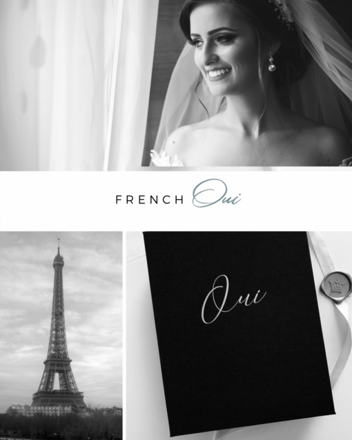oui, i do, vow book, french vow book, handmade vow book, luxury vow books, wedding story writer