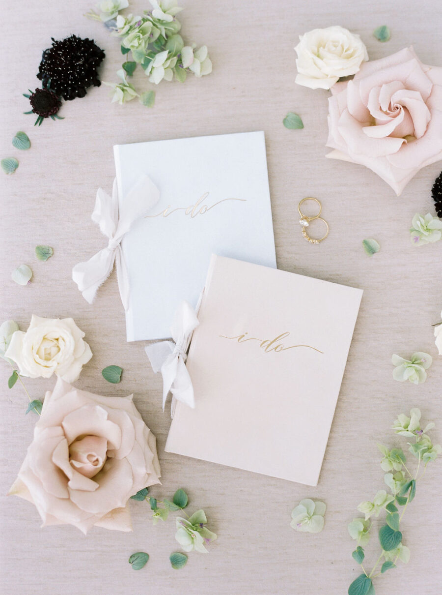 Wedding Story Writer White vow book
