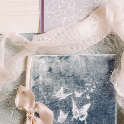 silk-velvet-butterfly-vow-book-wedding-story-writer