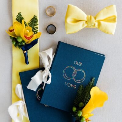 our vows vow book gay wedding band LGBTQ