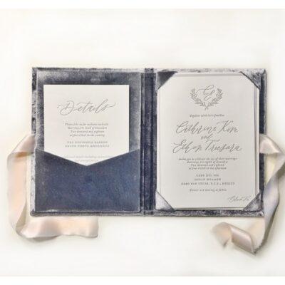 folio luxury wedding invitations