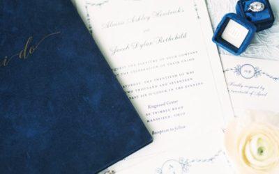 Blue + White Country Estate Wedding Ideas